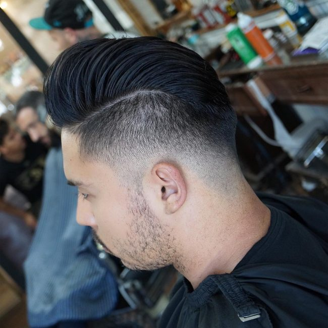 side part haircuts 72