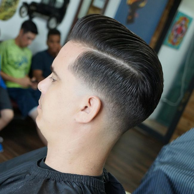 side part haircuts 74