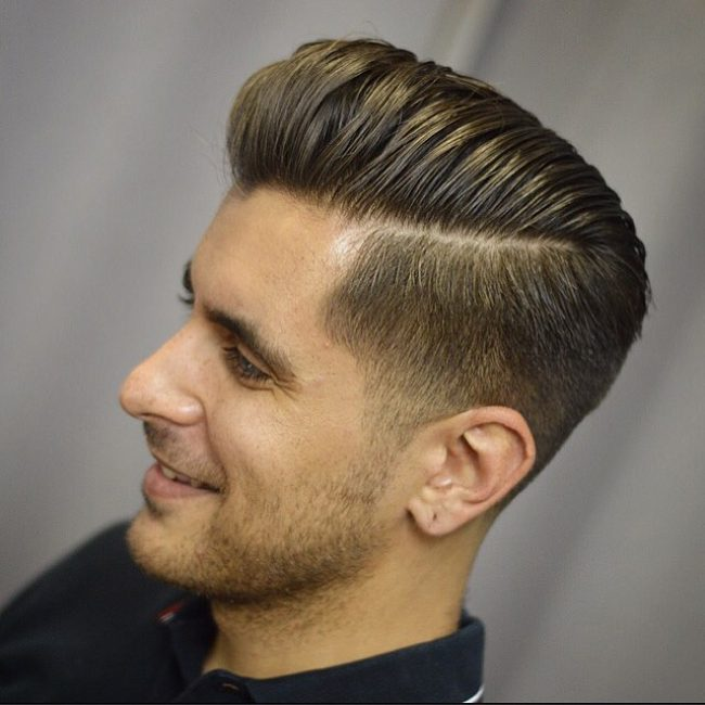 side part haircuts 80