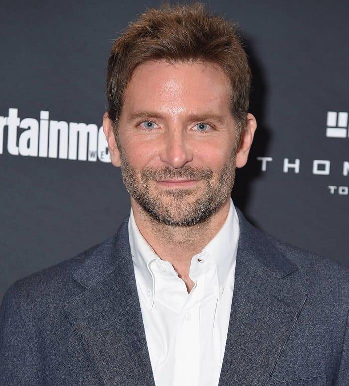 Bradley Cooper Short Hairstyle