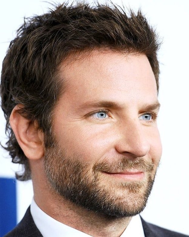 Bradley Cooper Medium Hairstyle