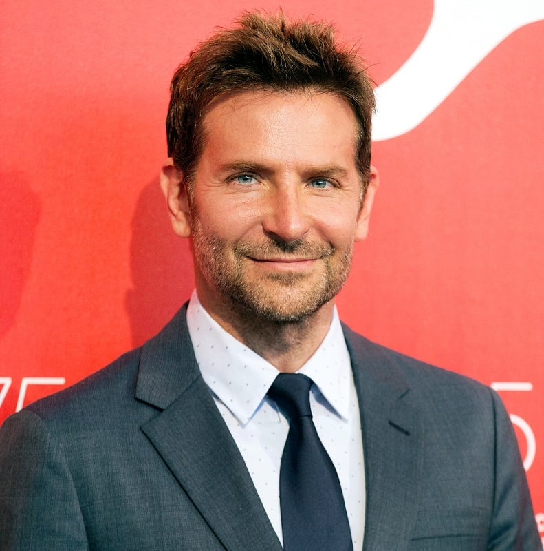 Popular Haircut of Bradley Cooper