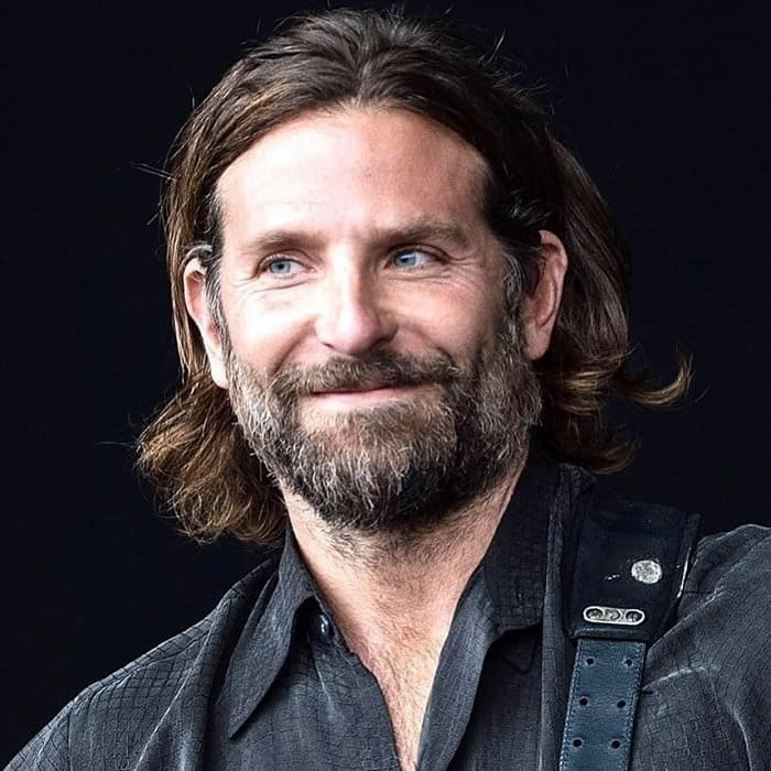 Bradley Cooper Long Hairstyle