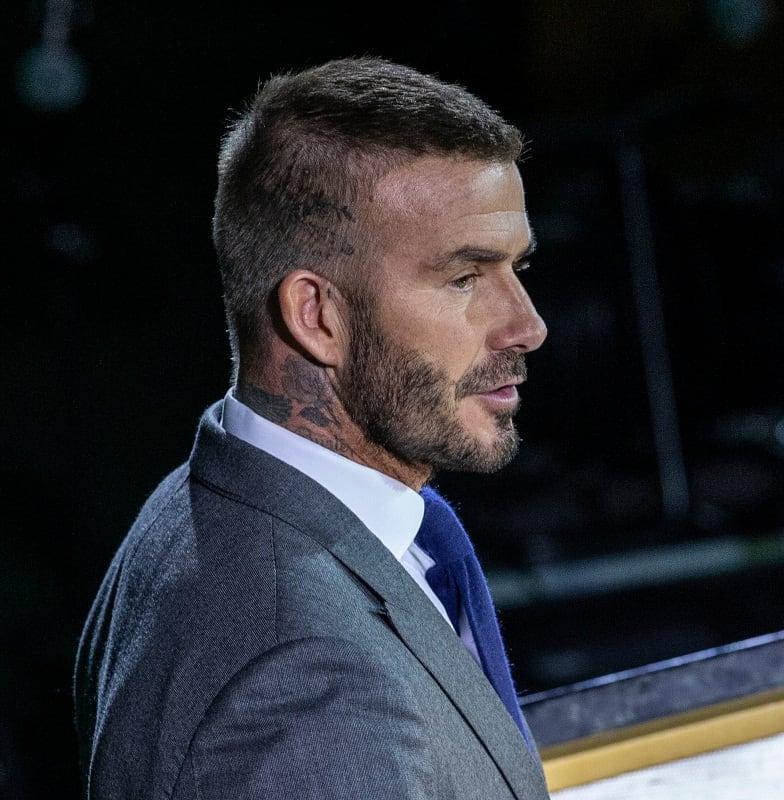 Popular David Beckham Haircut