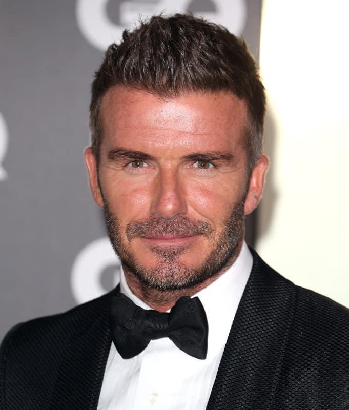 David Beckham's Quiff Haircut