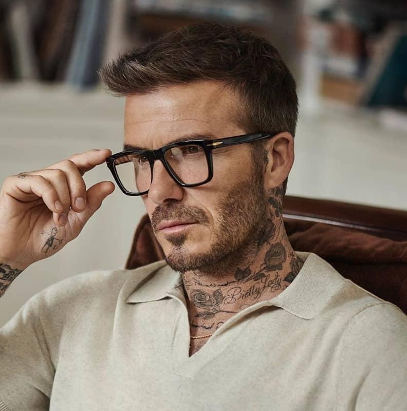 Haircut of David Beckham