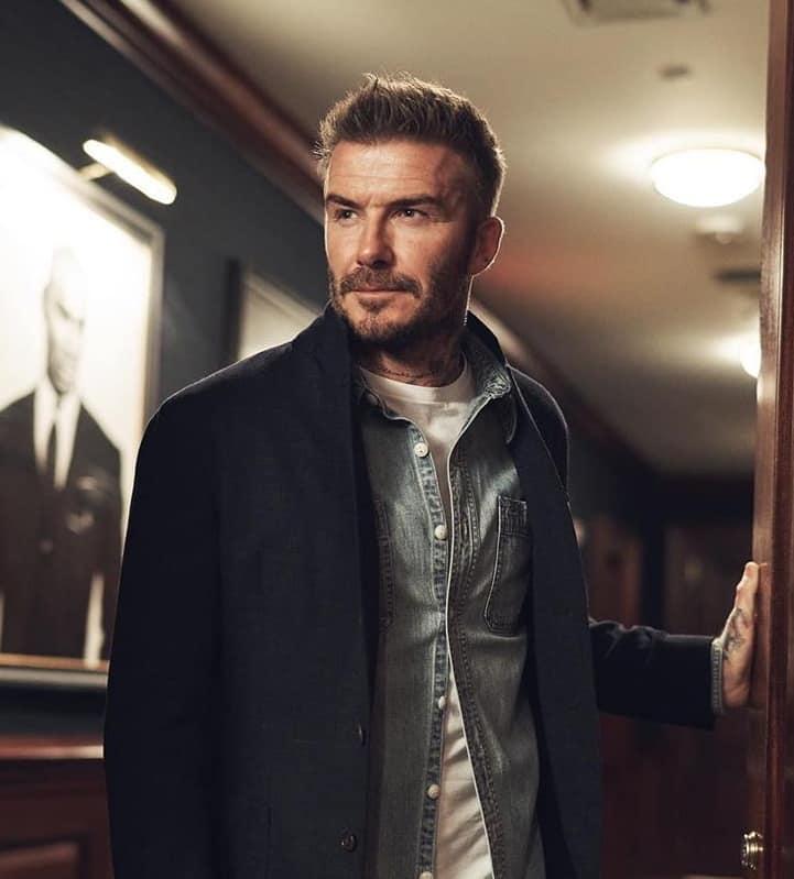 David Beckham's Haircut