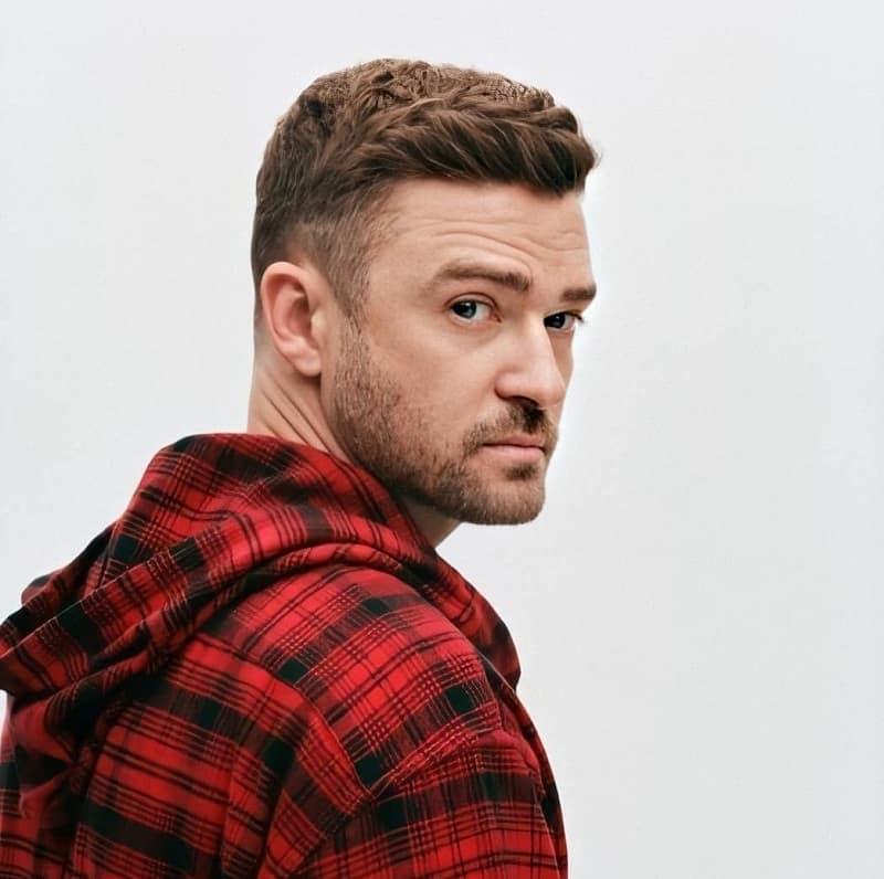 Justin Timberlake Hairdo