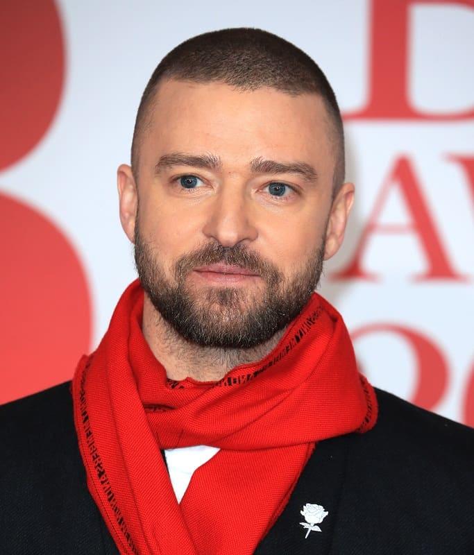 Justin Timberlake's Caesar Haircut