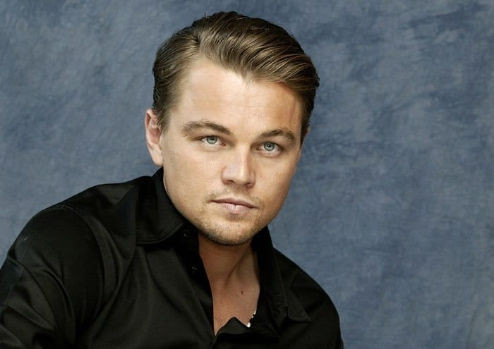 Leonardo DiCaprio with Thin Hair