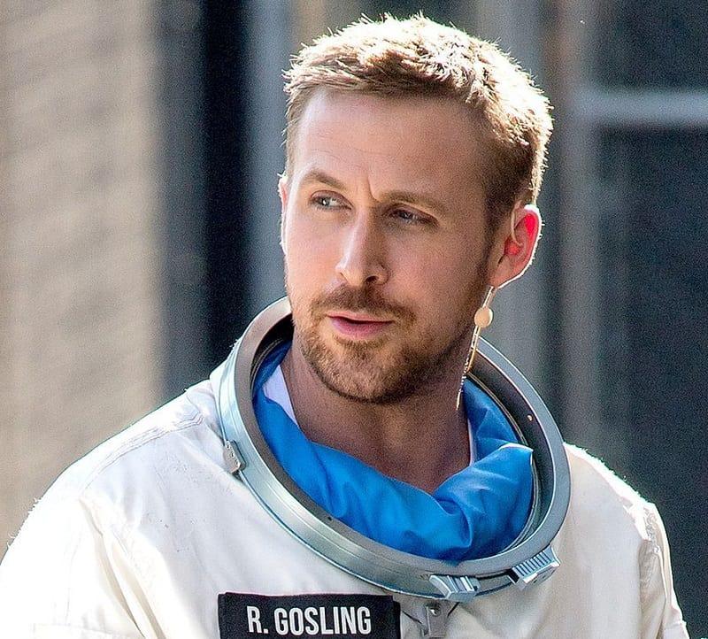 Iconic Ryan Gosling Haircut