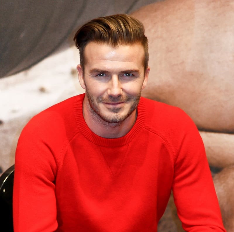 Soccer Haircut - David Beckham