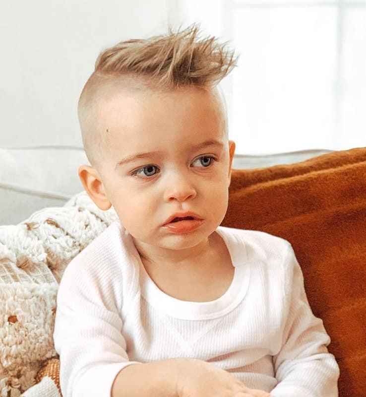 baby boy mohawk hairstyle