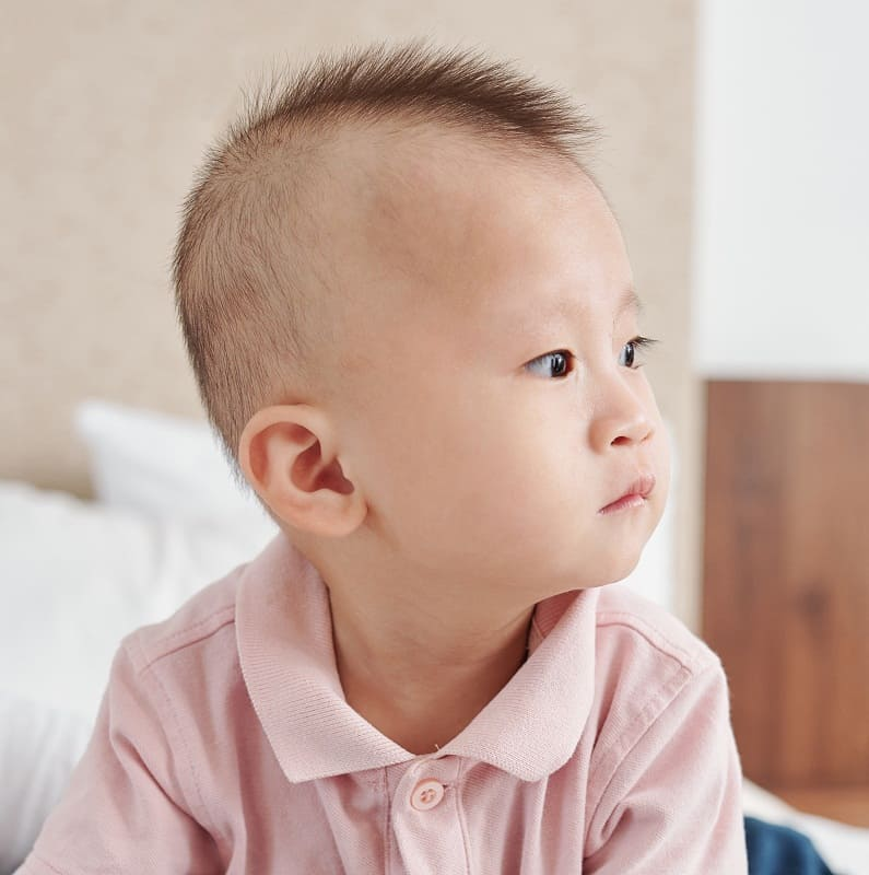 asian baby boy haircut