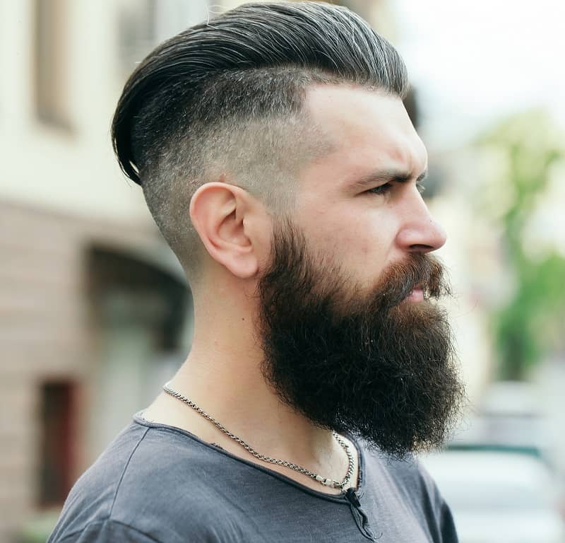 beard fade style for guys