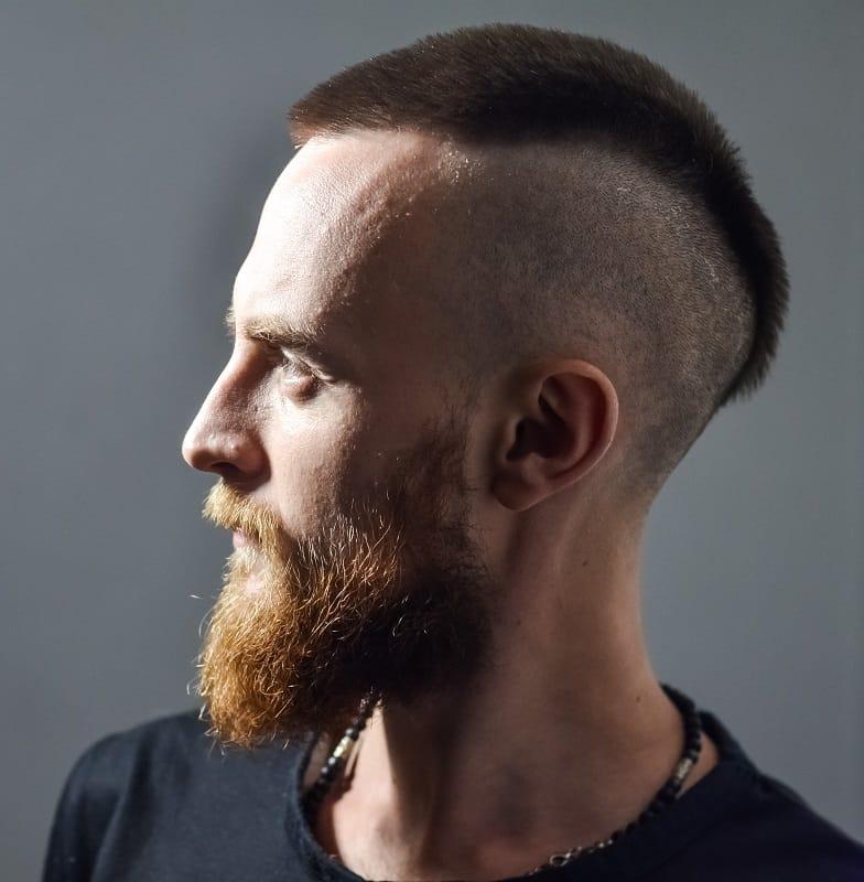 men's beard fade