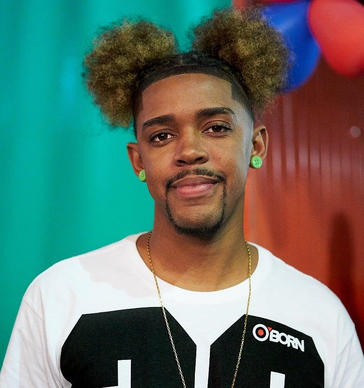 black men's hairstyle