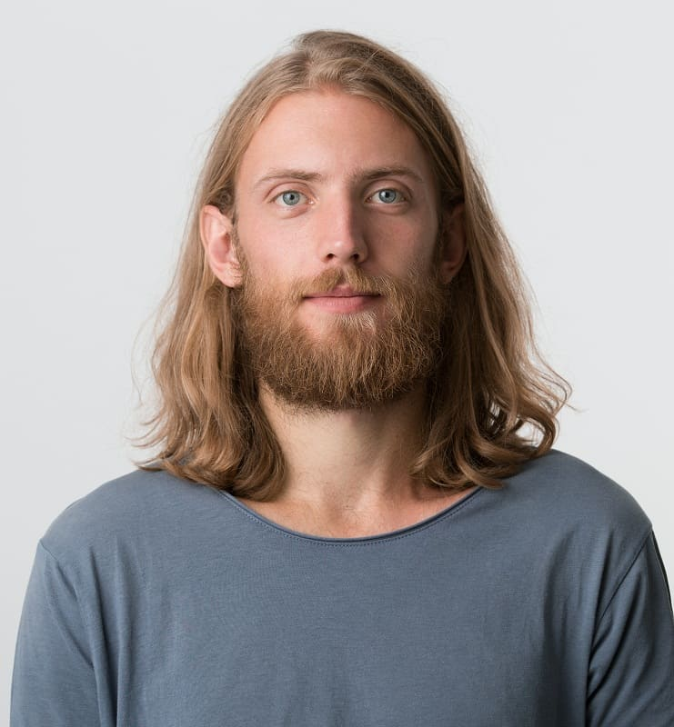 guy with blonde beard