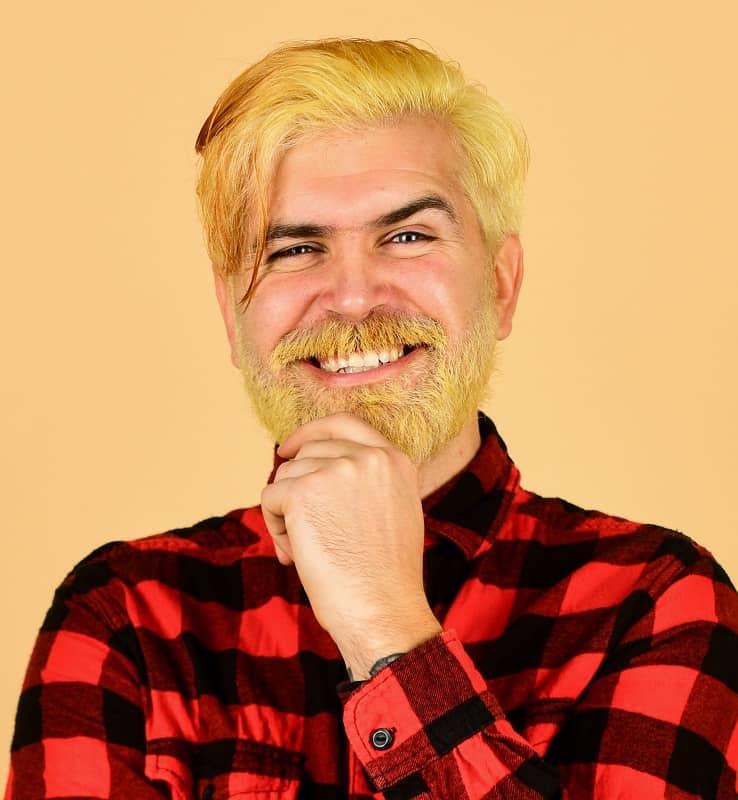 blonde beard for men