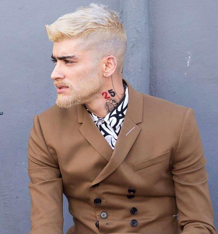 blonde beard style