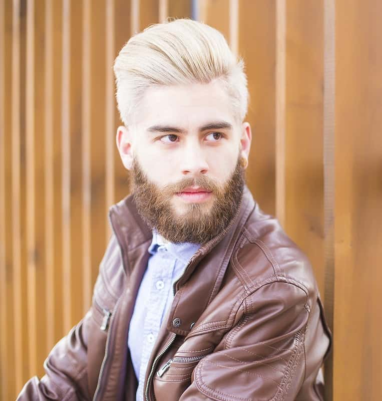 men's blowout hairstyle