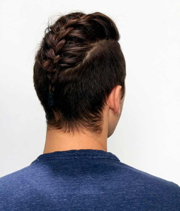 braided hairstyle for boys