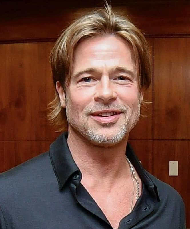 popular hairstyle of brad pitt from 2019