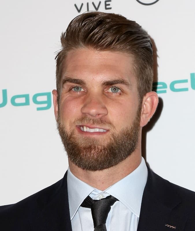 iconic bryce harper hairstyle