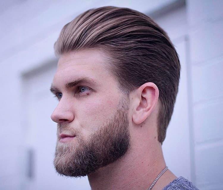 bryce harper haircut