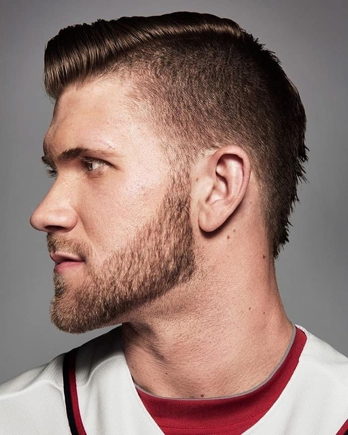 bryce harper with mohawk