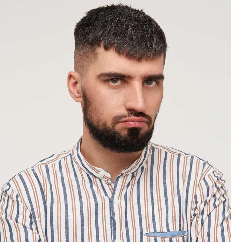 caesar cut