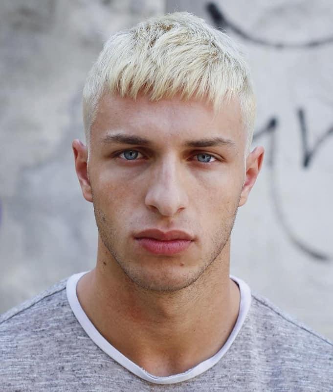 caesar haircut for men