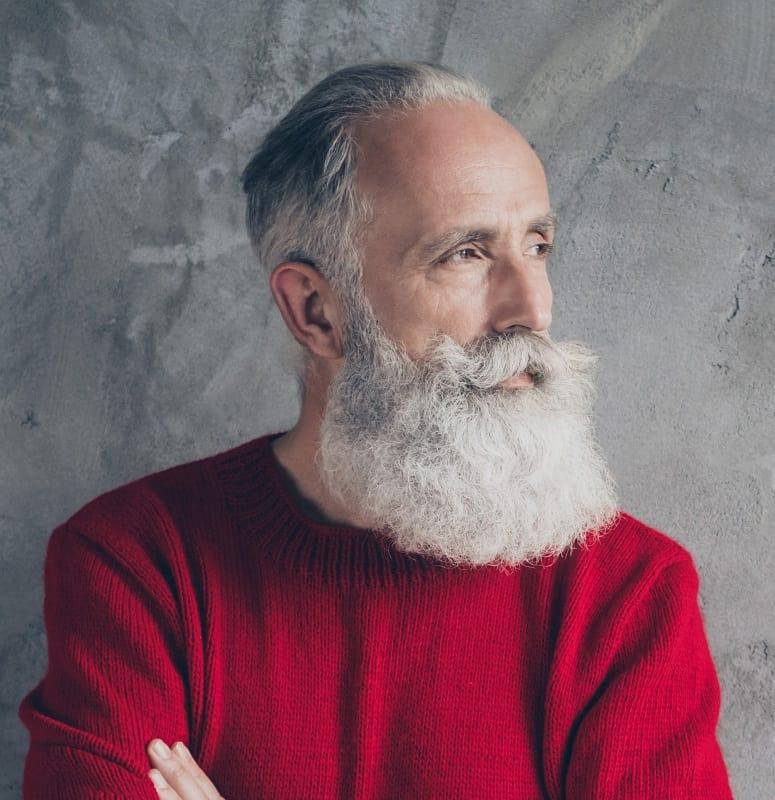 full beard for old men