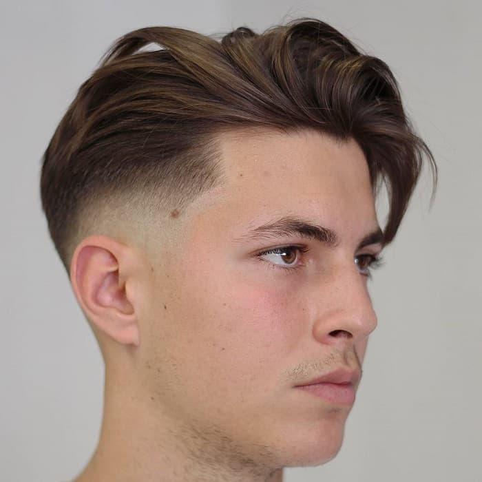 gentleman hair with undercut