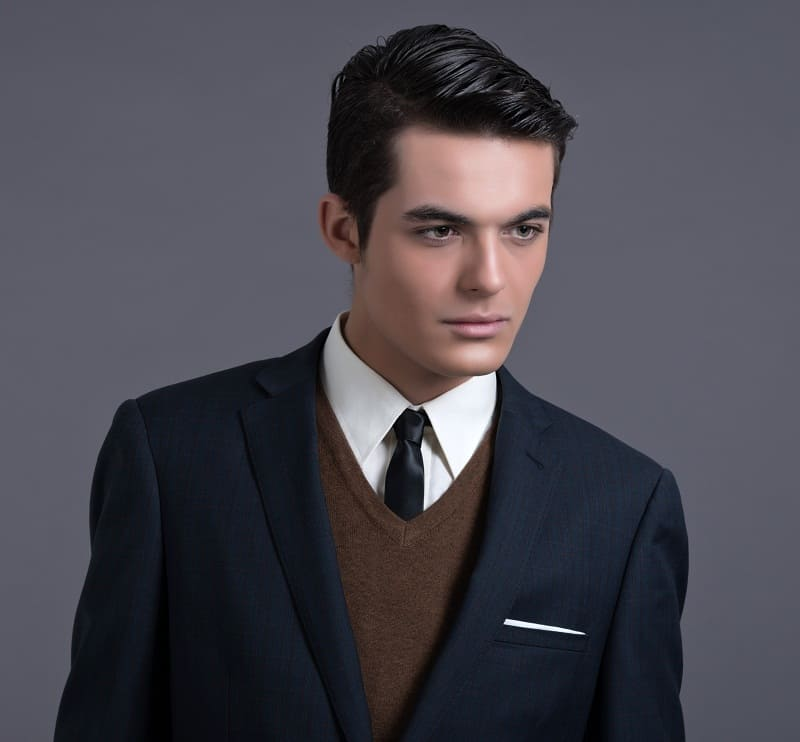men's gatsby hairstyle