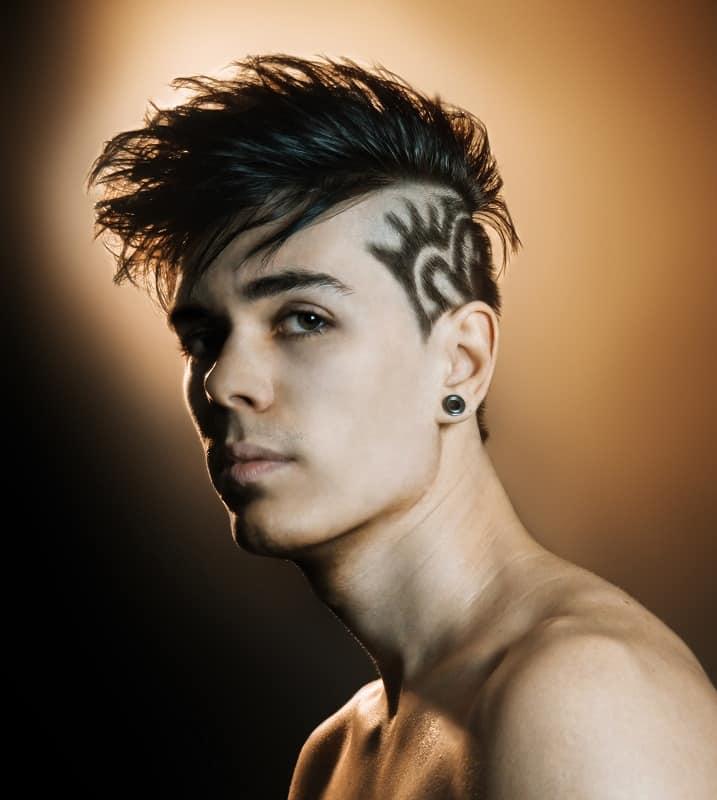 hair design ideas for men