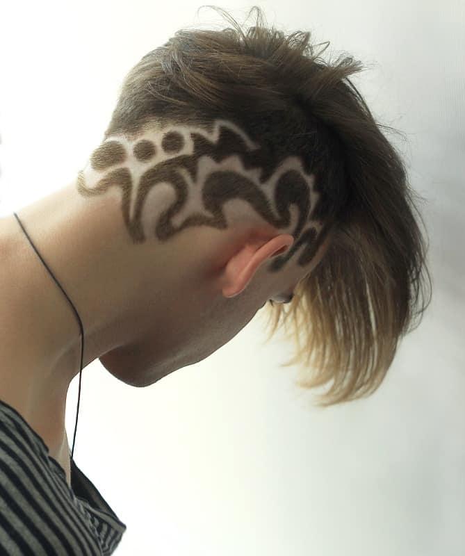 men's haircut design