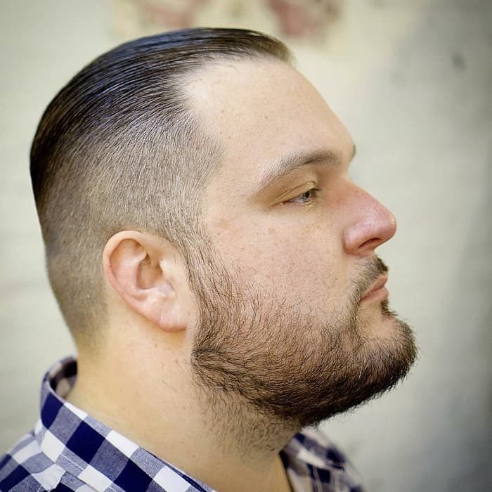haircut for man with fat face