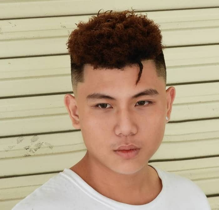 haircut for asian man with fat face