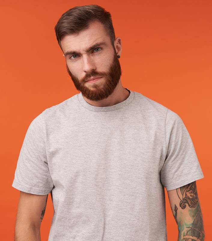 hipster haircut for men with square face shape