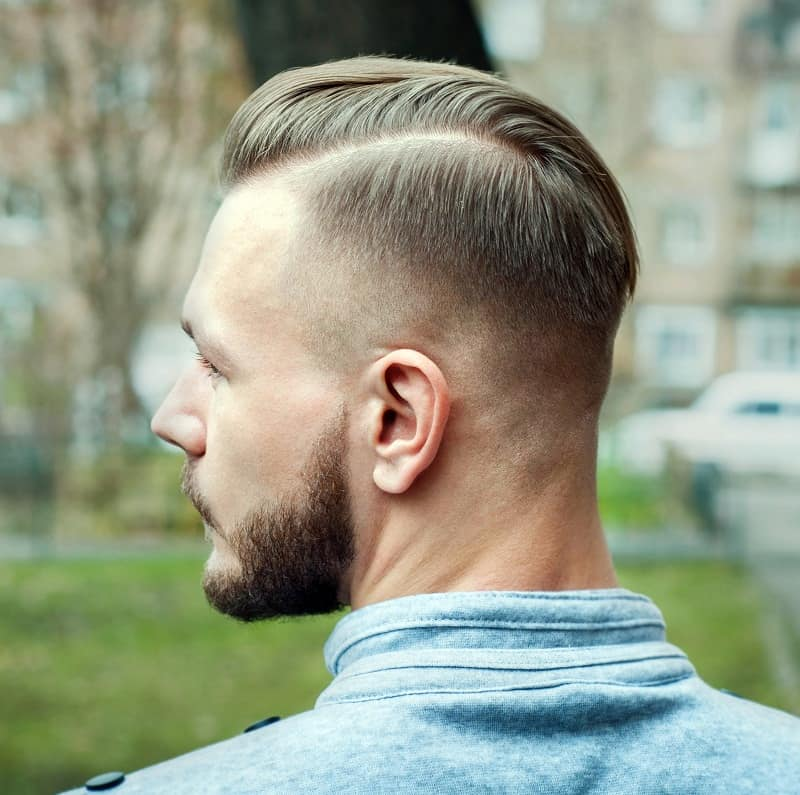 hard part fade for men