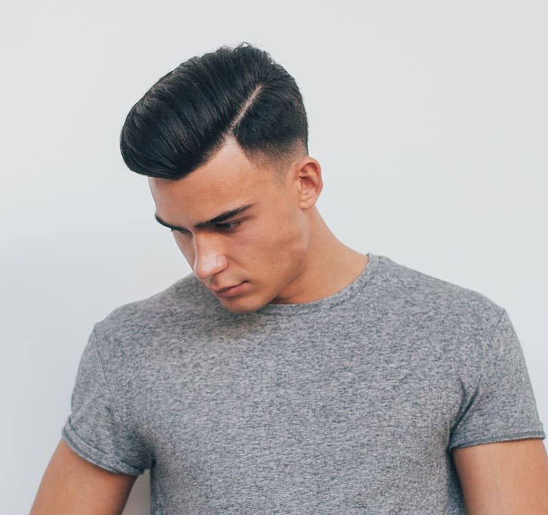 hard part haircut for men