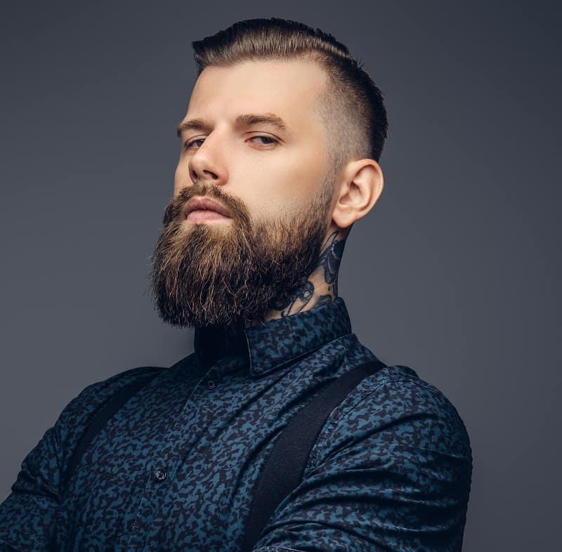 beard style for hipster men