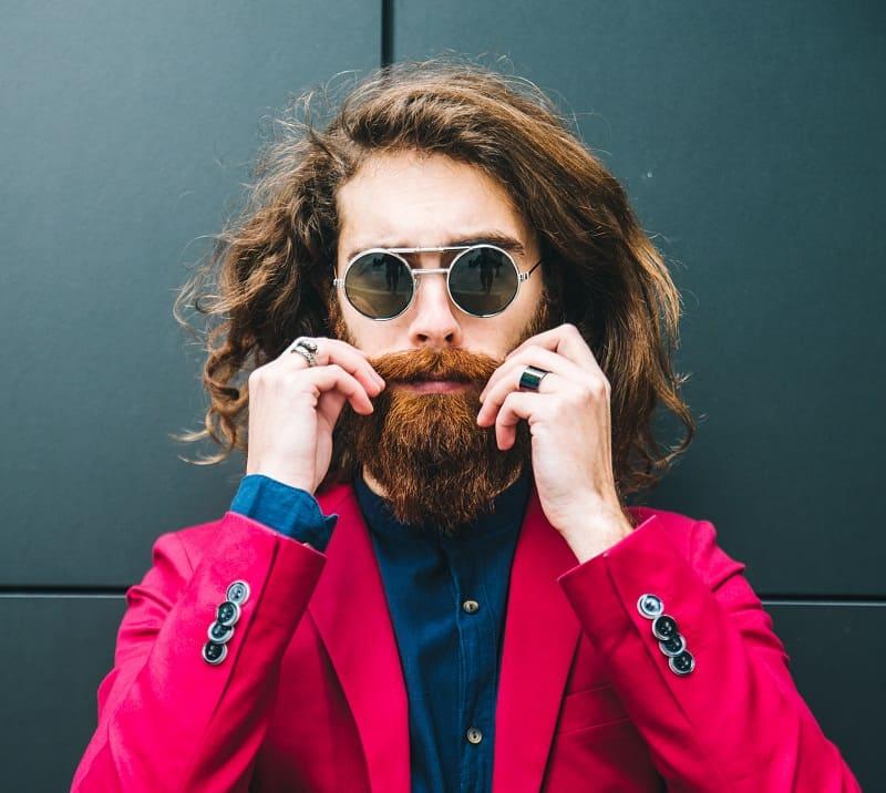 long hipster haircut for men
