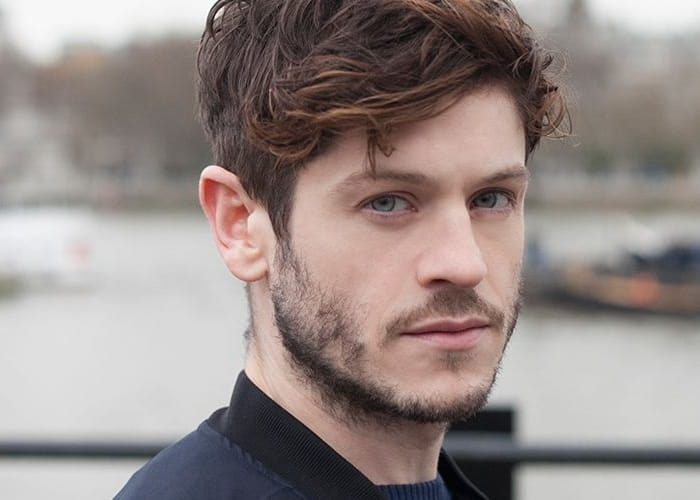 iwan rheon with patchy beard