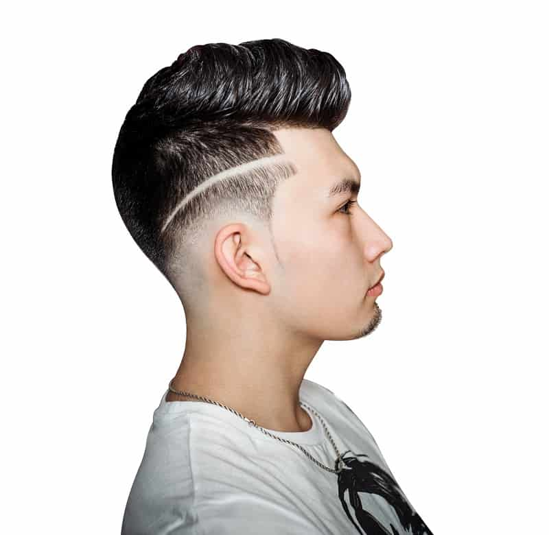 line up haircut for guys