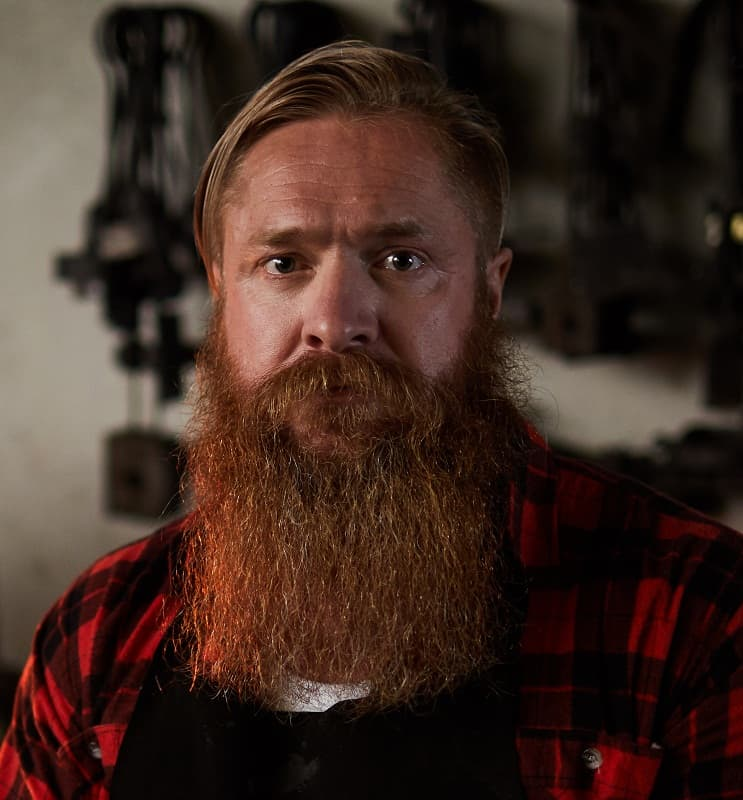 Long bearded guy