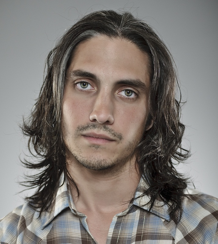long layered haircut for men
