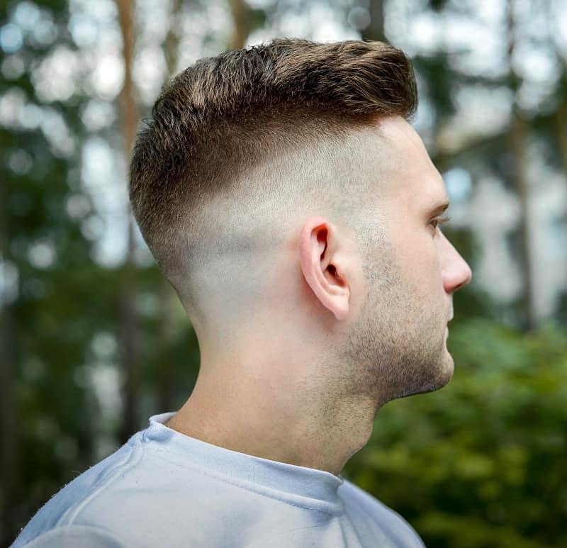 men's drop fade haircut