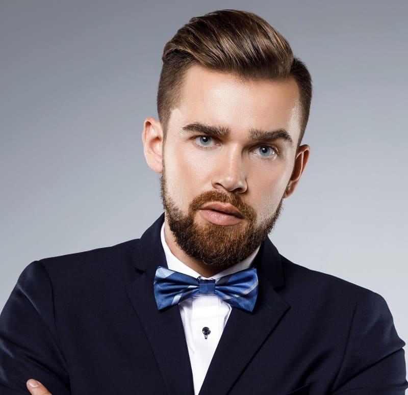 men's professional hairdo